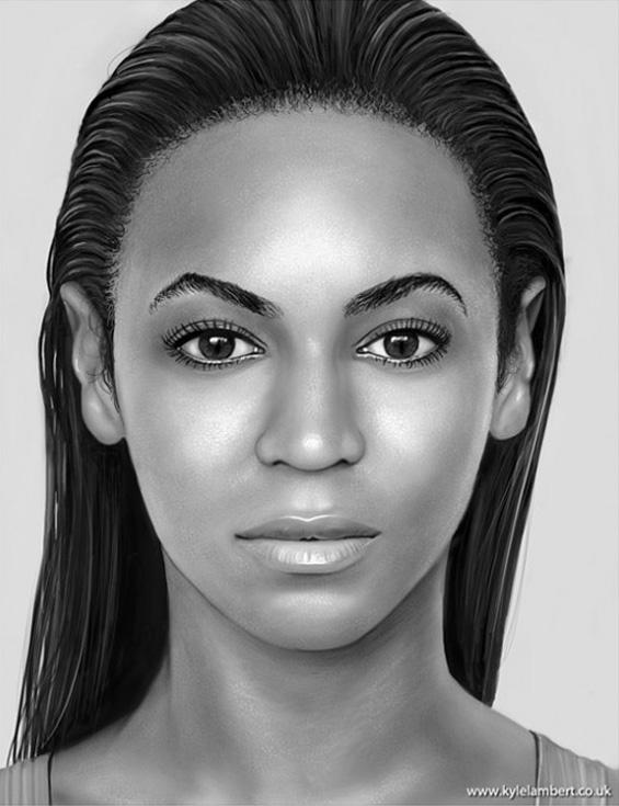 Автентични портрети на познатите нацртани на Ајпед