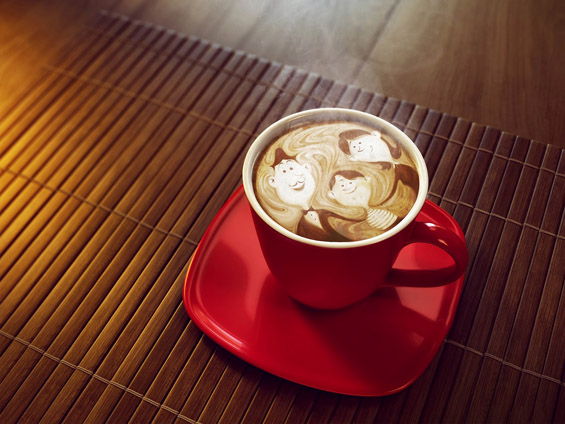 Кафе-позадина за вашиот десктоп #60