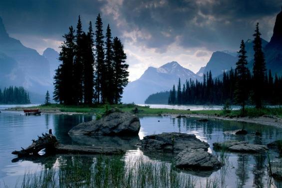 Националниот парк Џаспер во Канада