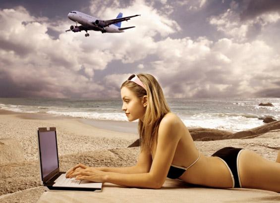 Преку интернет изберете до кого ќе седите во авионот