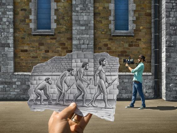 Кога моливот ќе ја допре фотографијата...