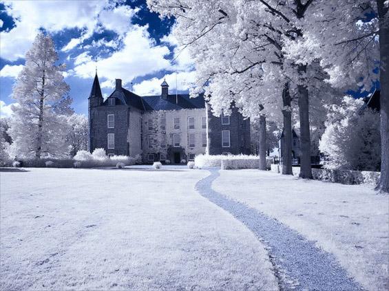 Егзотични места прекриени со снег