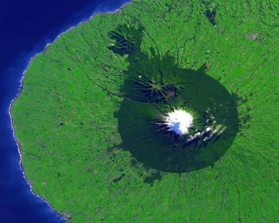Планината Таранаки во Нов Зеланд