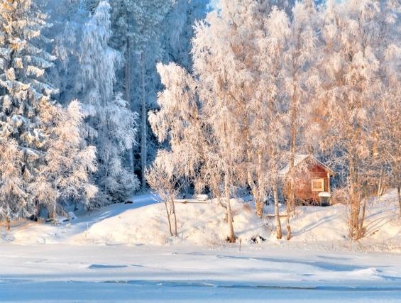 Зимските пејсажи на Финска