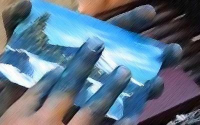 Чилеанец слика уметнички дела за минута и пол