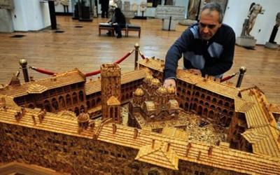 Рилскиот манастир изработен од 6 милиони шкорчиња