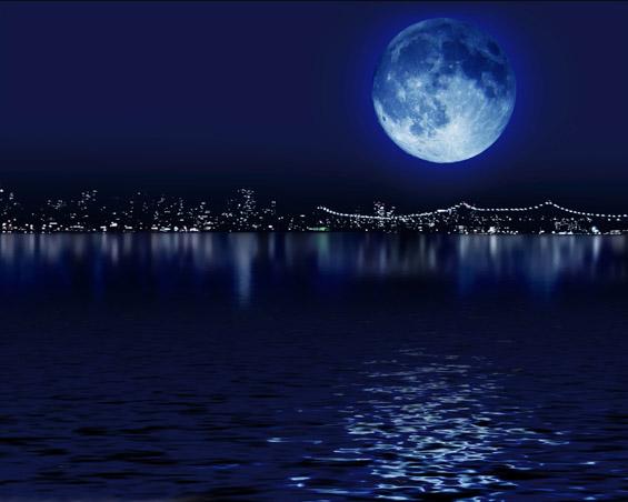 Сина месечина