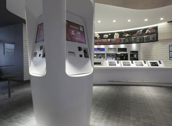 Рестораните на Мекдоналдс со нов футуристички изглед
