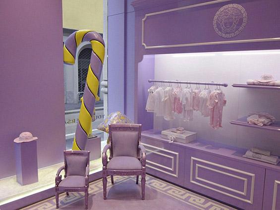 """Првиот бутик """"Версаче"""" за деца"""