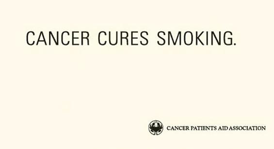 Интересни маркетинг постери против пушење