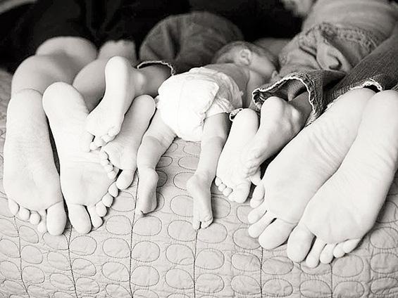 Фотографии кои морате да ги направите со вашето бебе