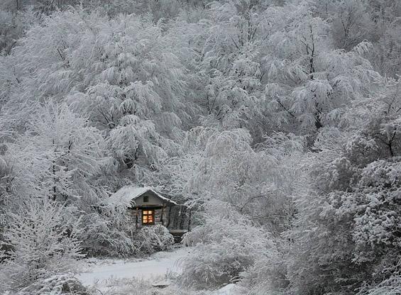 Неверојатна снежна бајка од фотографии
