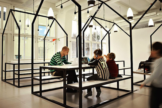Училиште без ѕидови кое ја буди креативноста