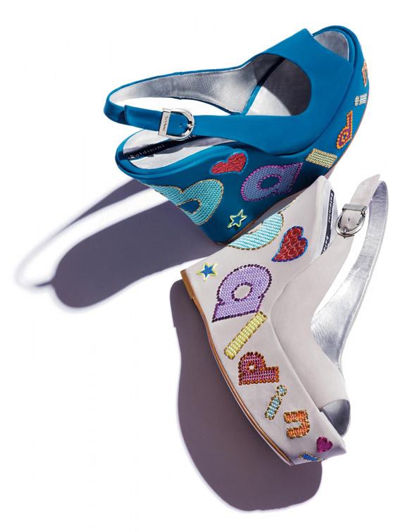 Новата колекција на провокативните женски чевли Балдинини, пролет/лето 2012