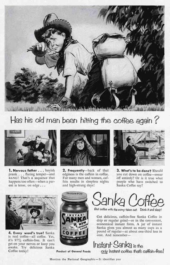 Реклами за кафе од минатото и лекциите на кои нѐ учат