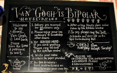 """Порција среќа во ресторанот """"Ван Гог е биполарен"""""""