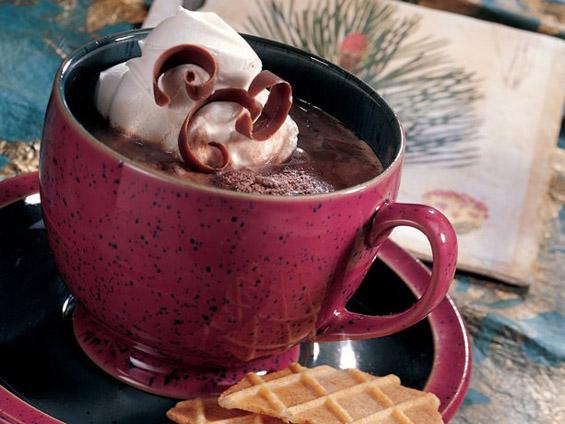 Крем-кафе со сладолед