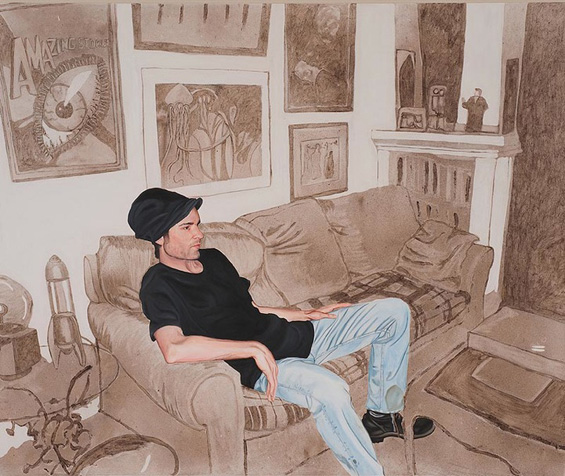 """""""Старомодни"""" портрети насликани со еден куп прашина"""
