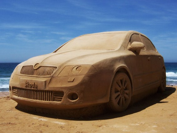 Неверојатни скулптури од песок