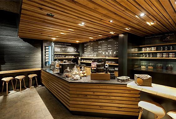"""Нов лик на најпознатите кафе продавници """"Старбакс"""