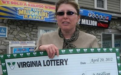 Добила 1 милион долари на лотарија, двапати во еден ден