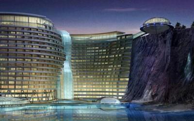 Неверојатен хотел сместен во дното на јама