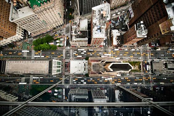 Њујорк од птичји поглед