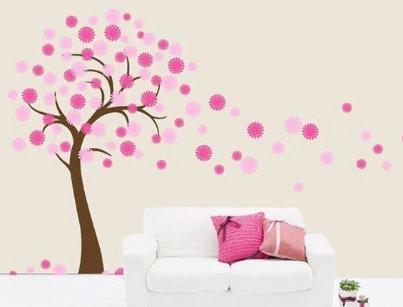 Цветно декорирање во духот на пролетта
