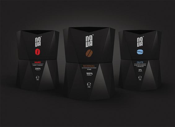 Оригинални амбалажи на неколку кафе брендови