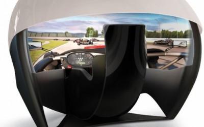Тркачки симулатор за во дневна соба