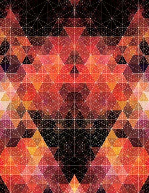 (12) Хипнотички геометриски композиции