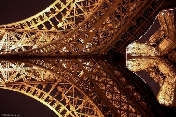 Ајфеловата Кула од малку поинаква перспектива