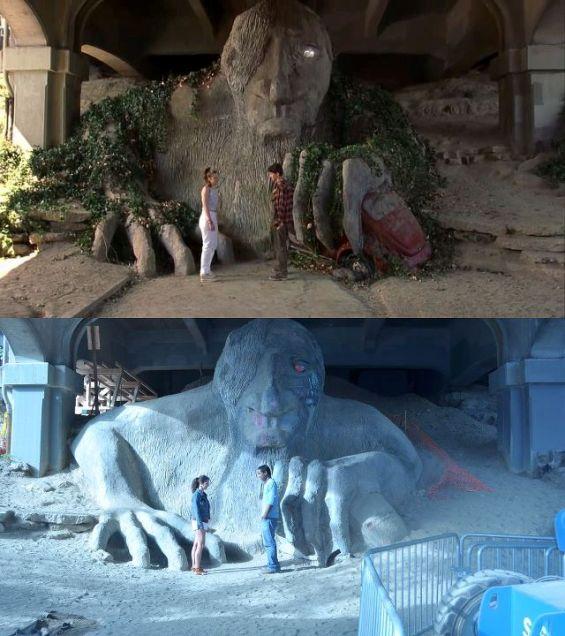 Реконструкција на познати филмски сцени направени на разни локации низ светот