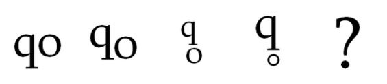Потеклото на одредени симболи