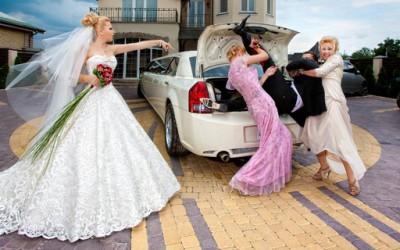 Необични свадбени фотографии