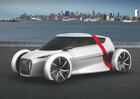 Револуционерен урбан автомобил на Ауди
