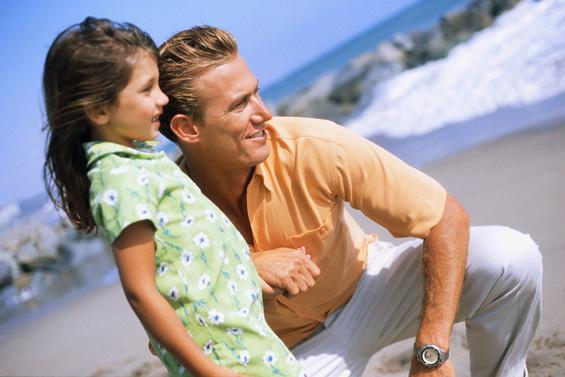 Татковата љубов e пресудна за среќата на детето