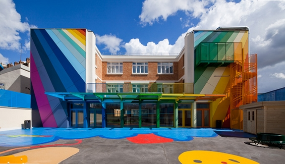 Колоритна градинка во Париз