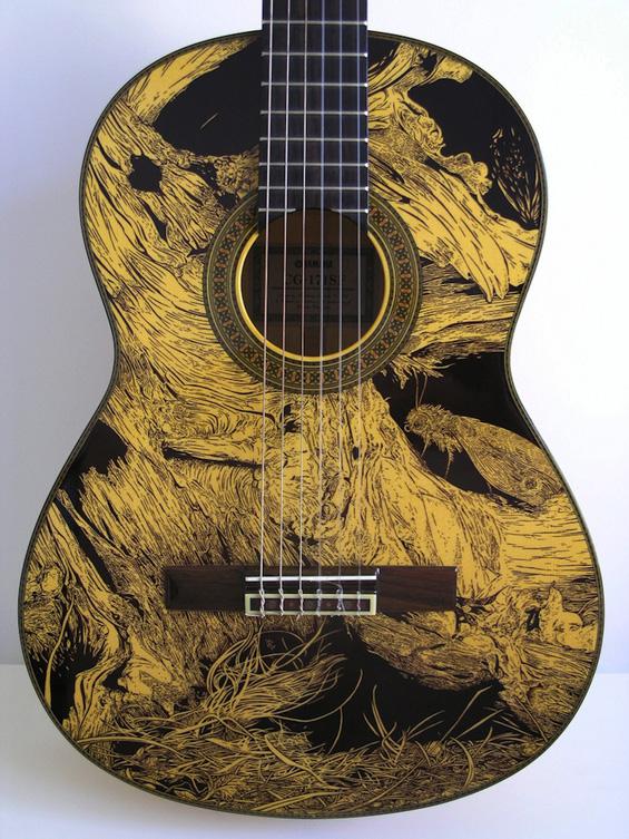 Уметност за љубителите на гитарите
