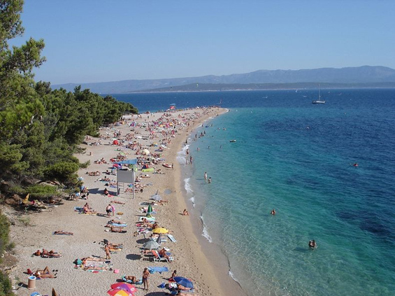 """""""Златни рат"""" - најубавата плажа во Хрватска"""
