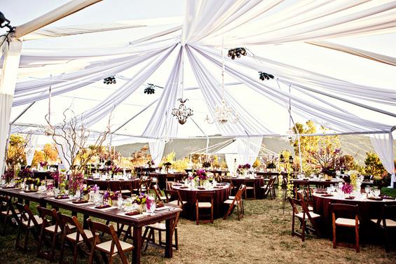 Како да направите свадба на отворено