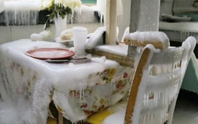 Ледена куќа инспирирана од глобалното затоплување