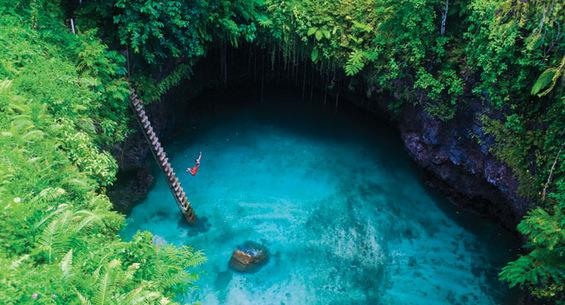 Адреналински скок во рајска дупка