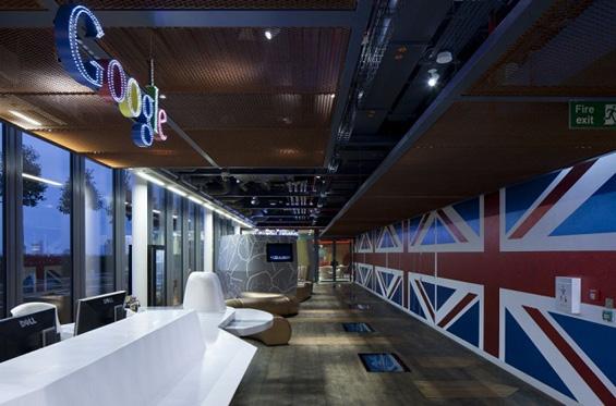 Креативните канцеларии на Гугл во Лондон