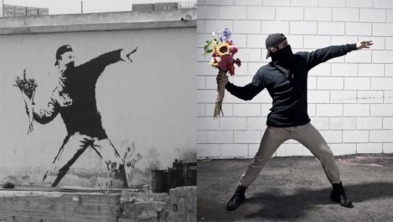 Оживеаја мистериозните графити на Бенкси