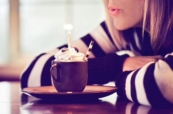Среќен 2-ри роденден Кафе пауза