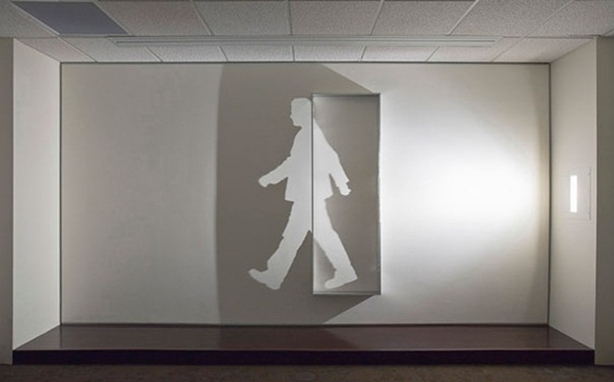 Чудни сенки на ѕидот