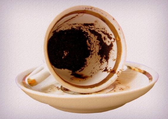 Значењата на најчестите симболи што се појавуваат при гледање на кафе