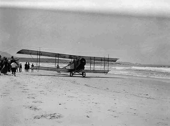 На плажа во 1900-тите