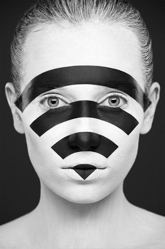Необична црно-бела убавина